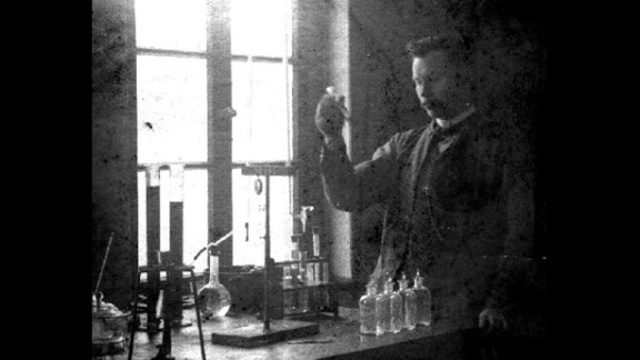 """Wilhelm Normann was awarded a patent in 1903 for the """"Process for the Conversion of Unsaturated Fatty Acids or Their Glycerides into Saturated Compounds."""" Basically, Normann figured out how to turn liquid oils into a thicker, firmer substance through hydrogenation. This solid fat was less likely to spoil and cheaper to produce and transport."""
