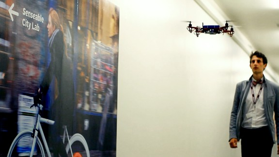 SkyCall delivers you straight to the door. The high-tech robot is the brainchild of researchers at MIT