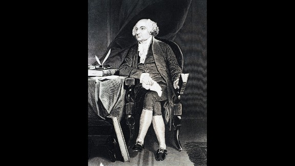 John Adams was the second president of the United States. His son John Quincy Adams was the sixth President.