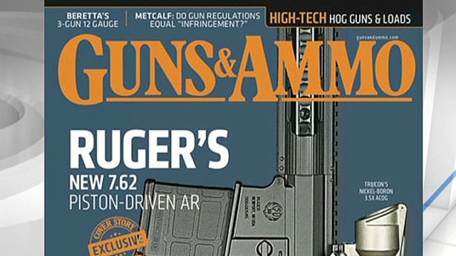 Gun magazine editor resigns after column