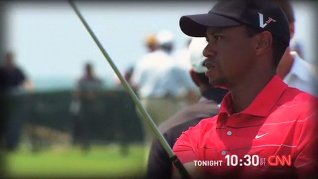 Tiger Woods tonight on Unguarded