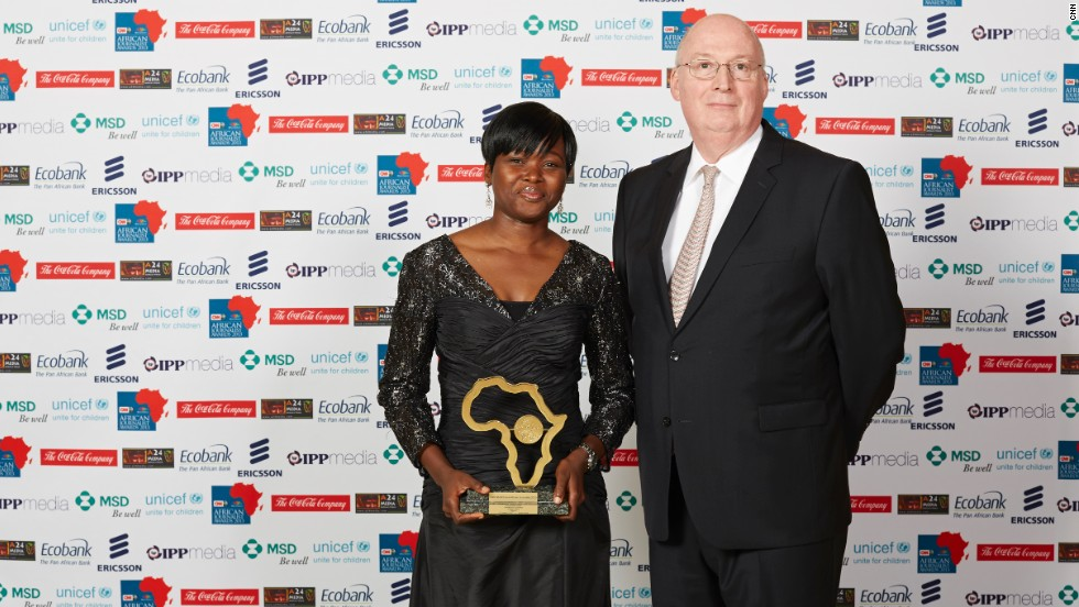 "Oluwatoyosi Ogunseye of the Sunday Punch in Nigeria, won the Environment Award for her piece ""The rich also cry."""