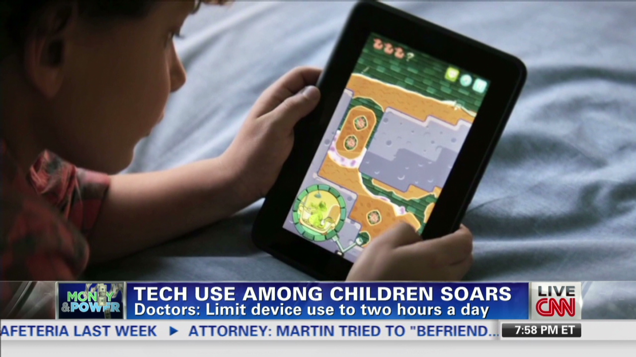 Kids Use Of Technology Soars >> Are Kids Too Obsessed With Technology Cnn Video