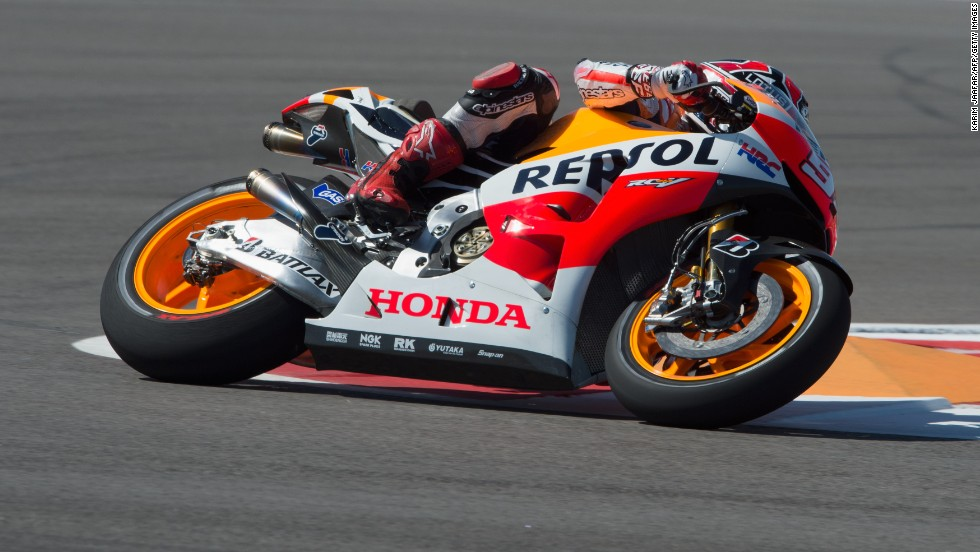 Marc Marquez Becomes Youngest Motogp World Champion Cnn