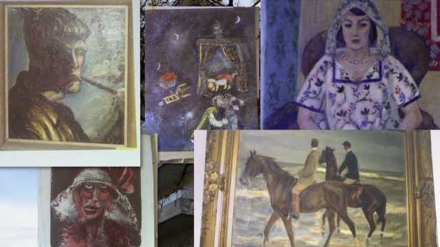Nazi confiscated art found in Munich apartment