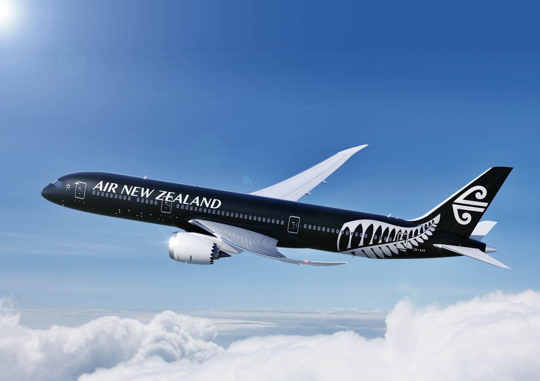 best sneakers b5068 e0d14 Air New Zealand shows off stunning, all-black Dreamliner   CNN Travel