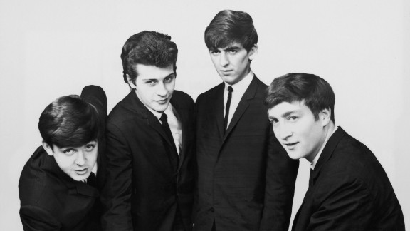 "They booted drummer Pete Best out of jealousy. Producer George Martin wasn't impressed by Best (second from left), and McCartney has said he ""was holding us back."" The rest of the Beatles were equally unsentimental. Ringo Starr, who had played with the Beatles occasionally, was a far better drummer -- and when he joined, ""from that moment on, it gelled,"" said Harrison."