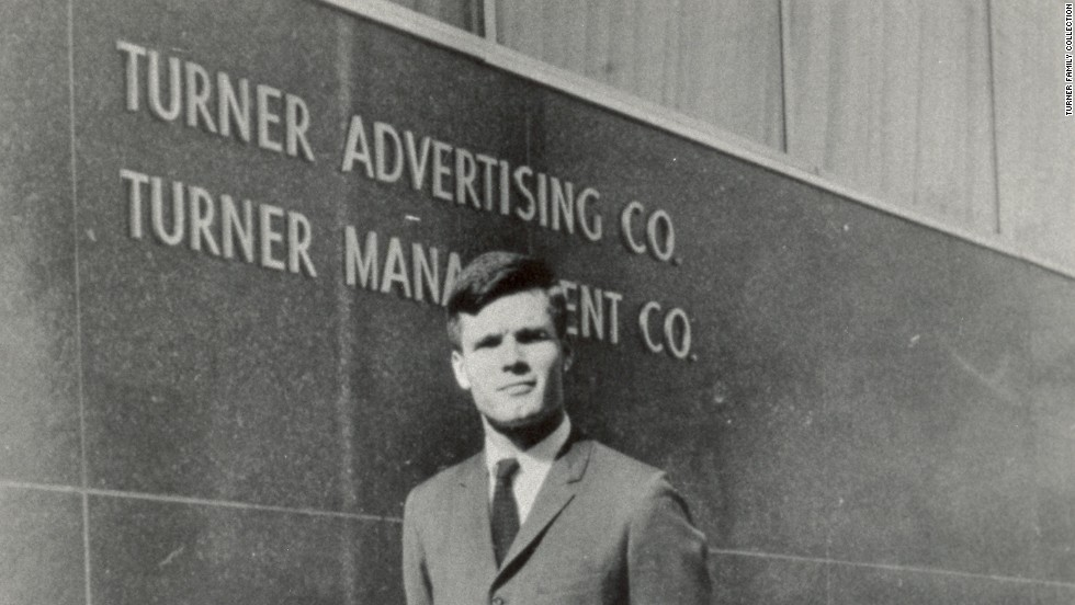 After his father's suicide, Turner took over the family business, Turner Advertising Co.