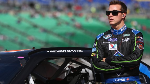 NASCAR driver Trevor Bayne announced that he was diagnosed in 2013. The chronic disease affects the central nervous system, often causing pain, numbness in the limbs and a loss of vision.