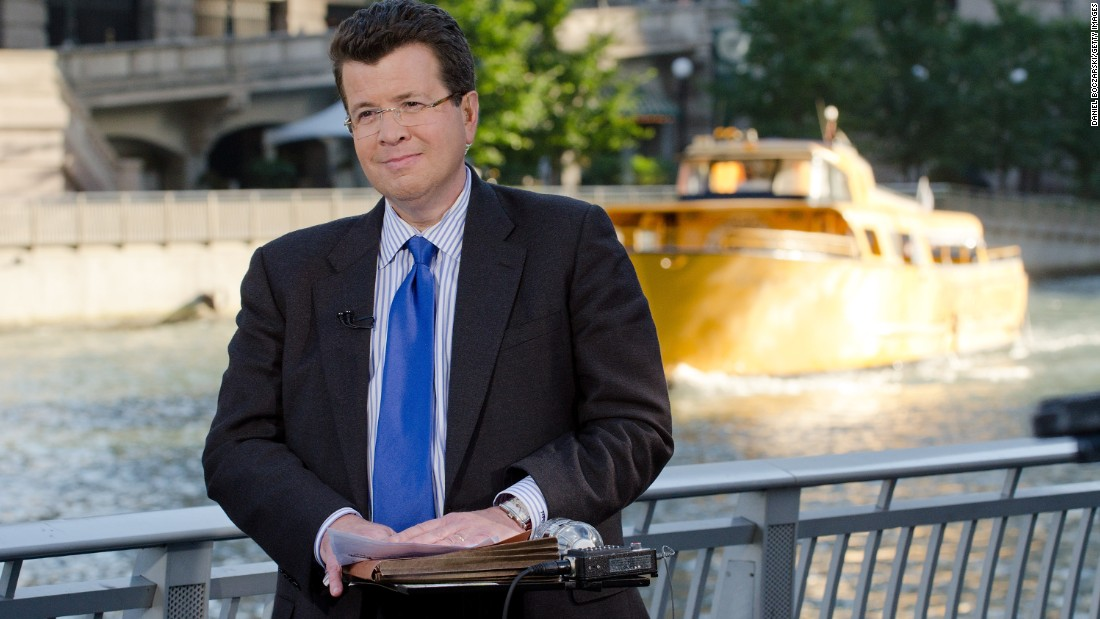 Fox News anchor Neil Cavuto was diagnosed with multiple sclerosis in 1997.
