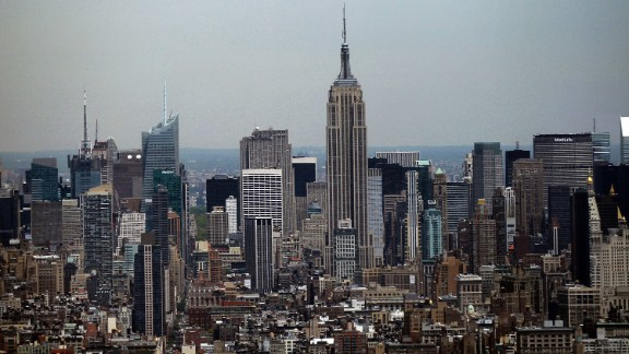 Completed in 1931, New York's iconic landmark rises to an architectural height of 1,250 feet (381 meters) and is occupied to a height of 1,224 feet (373.1 meters). The Empire State Building reigned as the world's tallest skyscraper for nearly 40 years.