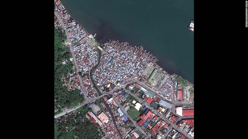 Before: Tacloban on February 23, 2012