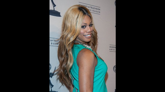 "Laverne Cox, who was cast as Frank-N-Furter in the ""Rocky Horror Picture Show"" remake, is the first openly transgender person to be nominated for an Emmy.  She appeared on the VH1 reality show ""I Want to Work for Diddy"" and later produced her own series, ""TRANSform Me."" She now portrays Sophia, a trans woman in prison, on the Netflix show ""Orange Is the New Black."" She received the Emmy nomination for that role."