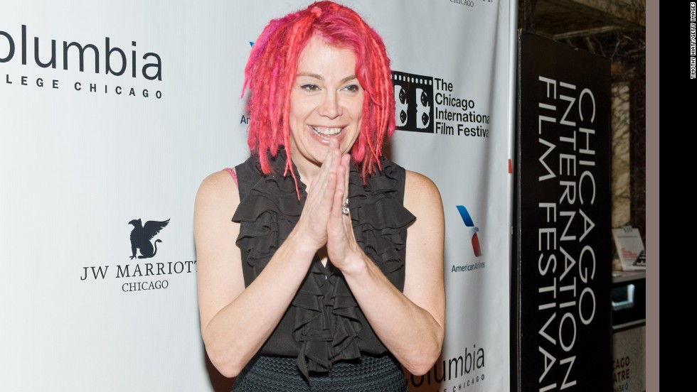 "Filmmaker Lana Wachowski made the ""Matrix"" <a href=""http://www.cnn.com/2016/03/08/entertainment/wachowski-sisters-transgender/index.html"">along with her sibling Lilly Wachowski</a>. Pink dreadlocks have become Lana's signature hairstyle."