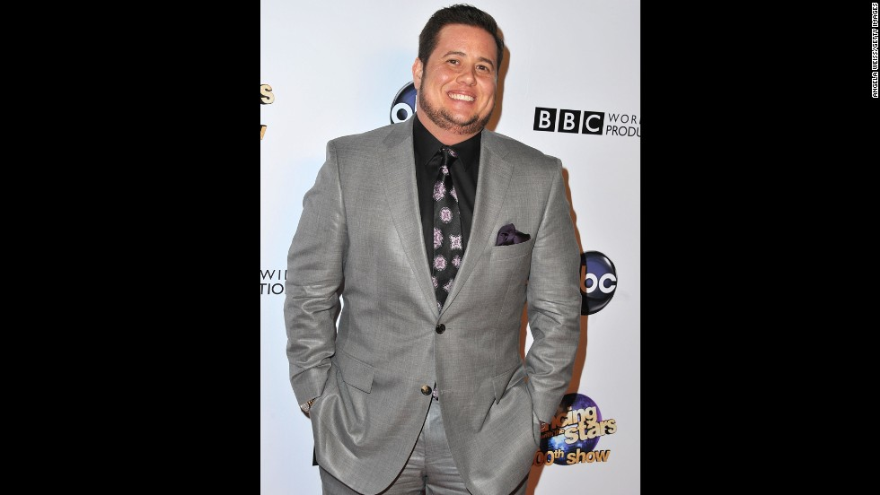 "Chaz Bono, the only child of entertainers Cher and Sonny Bono, arrives at a ""Dancing With the Stars"" special in May 2013. Bono was named Chastity at birth but came out as a lesbian in 1995 and later transitioned to living as a man. His transformation was chronicled in a book and a documentary feature, ""Becoming Chaz."""