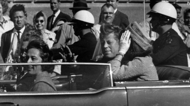 Boy on JFK death: It looked like confetti