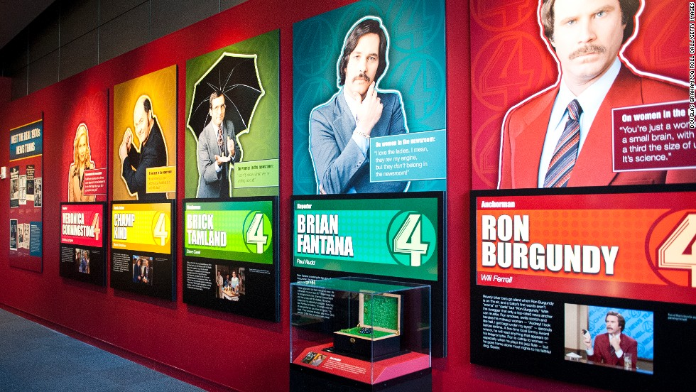 "Playing off Will Ferrell's 2004 comedy ""Anchorman: The Legend of Ron Burgundy,"" a new ""Anchorman"" exhibit has opened at <a href=""http://www.newseum.org/"" target=""_blank"">The Newseum</a> in Washington."