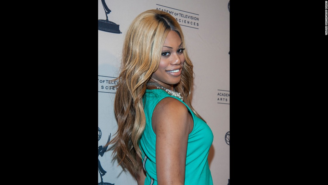 "Laverne Cox, who was cast as Frank-N-Furter in the ""Rocky Horror Picture Show"" remake, is the first openly transgender person to be nominated for an Emmy.  She appeared on the VH1 reality show ""I Want to Work for Diddy"" and later produced her own series,<a href=""http://www.vh1.com/shows/transform_me/series.jhtml"" target=""_blank""> ""TRANSform Me."" </a>She now portrays Sophia, a trans woman in prison, on the Netflix show ""Orange Is the New Black."" She received the Emmy nomination for that role."