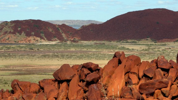The traces of microbial life were found in the Pilbara region of Western Australia.