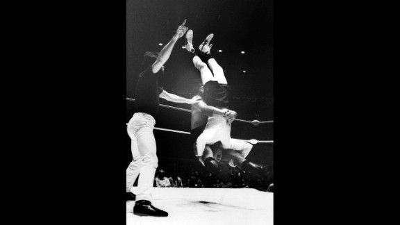 """Kaufman had to go to a hospital for X-rays on his neck after getting a """"pile driver"""" from professional wrestler Jerry Lawler during a match in Memphis on April 5, 1982.  Like most of Kaufman's antics, his wrestling career was all a put-on, lending credence to rumors that his death itself was a hoax. """"I would like nothing better than to know that Andy was still alive and been with us all this time,"""" Lawler told CNN. """"But like anybody else, I really don't know any more than what I've heard."""""""