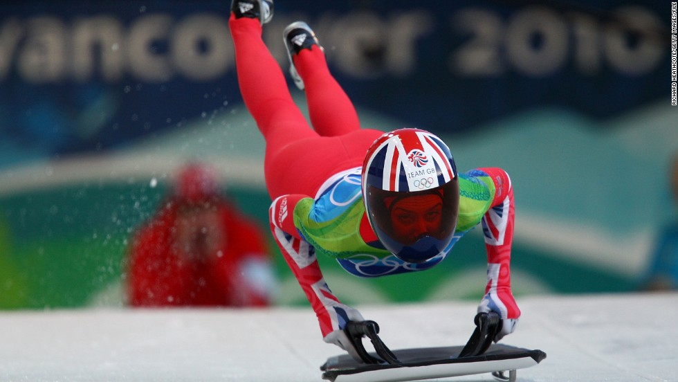 Williams' career in skeleton was also nerve-shredding. She competed for Great Britain at the 2010 Winter Games in Vancouver, where she was one of the favorites for gold heading into the competition.