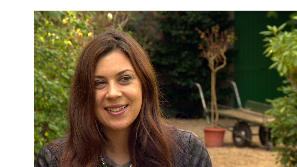 Marion Bartoli was in good spirits as she chatted to CNN's Open Court about her life in retirement after winning the Wimbledon title in July. She felt right at home in the gardens of Claude Monet, since she's an avid painter.