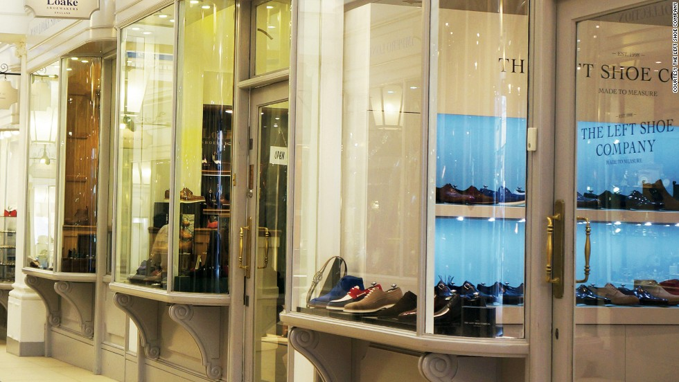 Finnish upstart The Left Shoe Company is merging tech and tradition to create bespoke footwear in London.