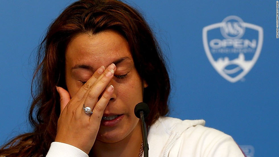 "Six weeks after her Wimbledon triumph she lost her opening match at the Cincinnati Open on August 14 and shortly after quit tennis due to injuries. ""My shoulder was on fire, my back,"" she said. ""I remember telling myself, 'What are you doing here? What's the point of being in so much pain?'"""