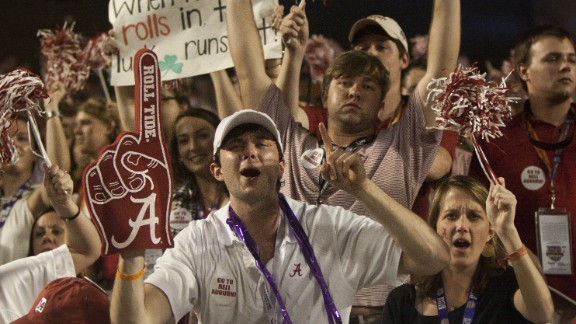 The University of Alabama dominates college football rankings -- and tailgating.