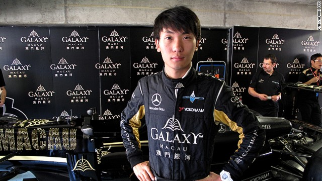 Sun Zheng, who is racing in the F3 Macau Grand Prix, hopes one day to be China's first competitive F1 driver