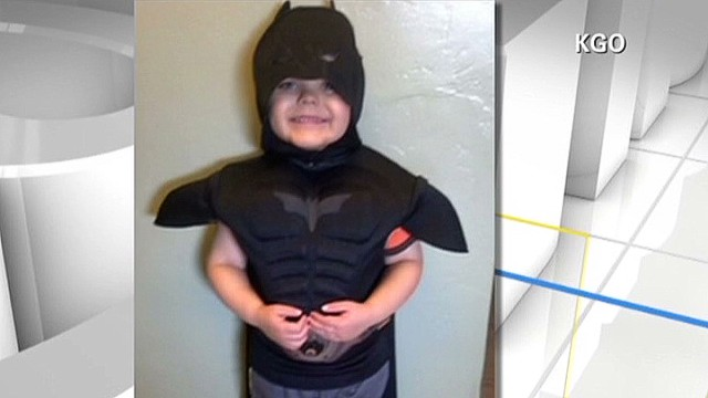 "5-year-old's ""Gotham City"" adventure"