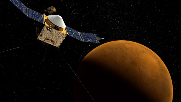 A new NASA spacecraft called MAVEN, short for Mars Atmosphere and Volatile Evolution, will help scientists figure out what happened to the red planet