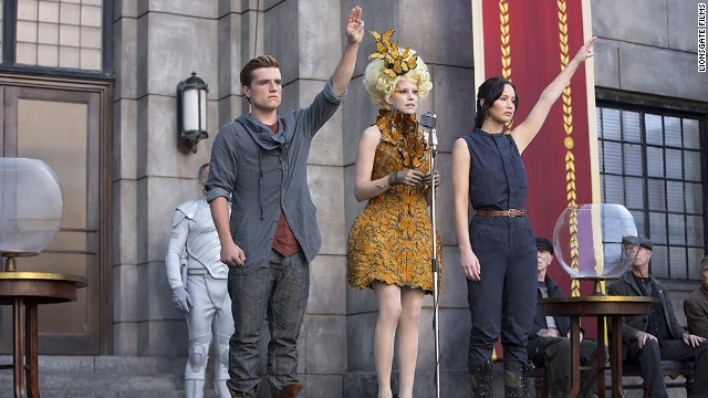 "The games are back on in ""The Hunger Games: Catching Fire."""