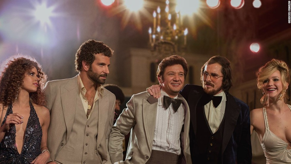 "After winning the holiday season of 2012 with ""Silver Linings Playbook,"" director David O. Russell has rounded up some of his favorite stars for a round two. ""American Hustle,"" starring Amy Adams (from left), Bradley Cooper, Jeremy Renner, Christian Bale and Jennifer Lawrence, is inspired by the FBI's Abscam operation in the '70s. (Release date: December 20)"