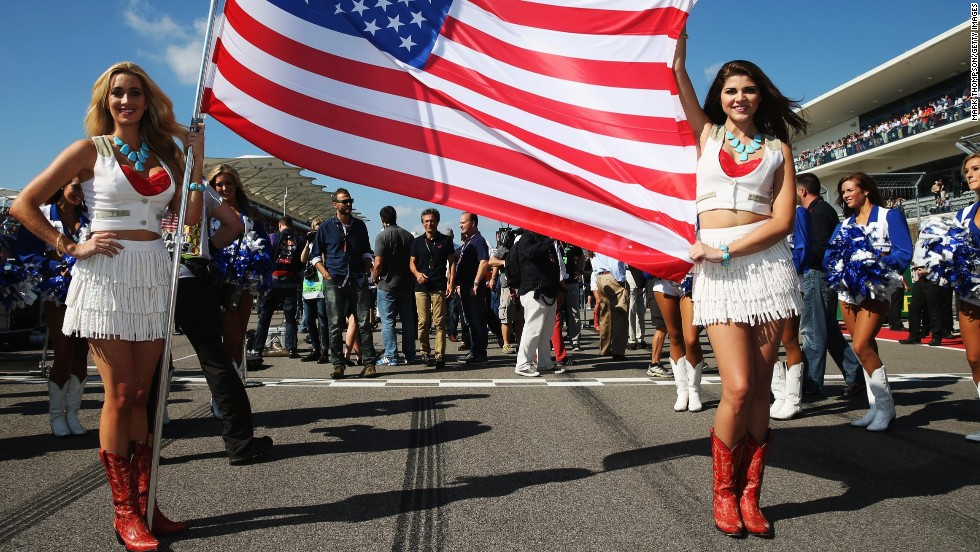 Made in the United States. The staging of F1 at  the Circuit of Americas in Austin, Texas has proved a big success.