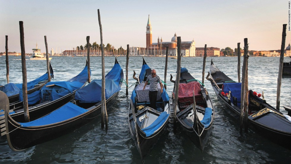 With gondola boats providing canal transport, Venice remains the world's only pedestrian city.