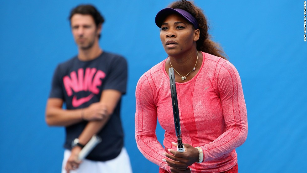 While still in Paris, Serena sought out coach Patrick Mouratoglou for help with her game. The results were immediate, Williams going on to win Wimbledon, two Olympic gold medals, the U.S. Open and the WTA Championships.