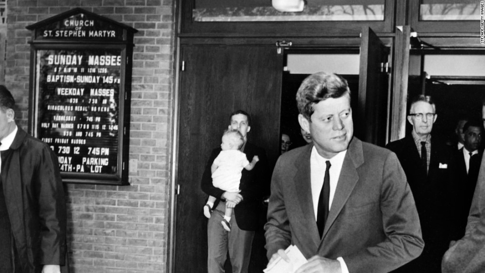 JFK: America's first Catholic president