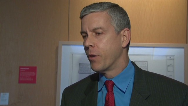 Sec. Duncan: My wording was clumsy