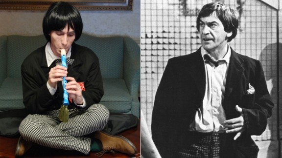 Mikhail Lynn cosplays as multiple doctors, including the recorder-playing Second Doctor, who was portrayed by Patrick Troughton. He holds a special place in the St. Louis resident