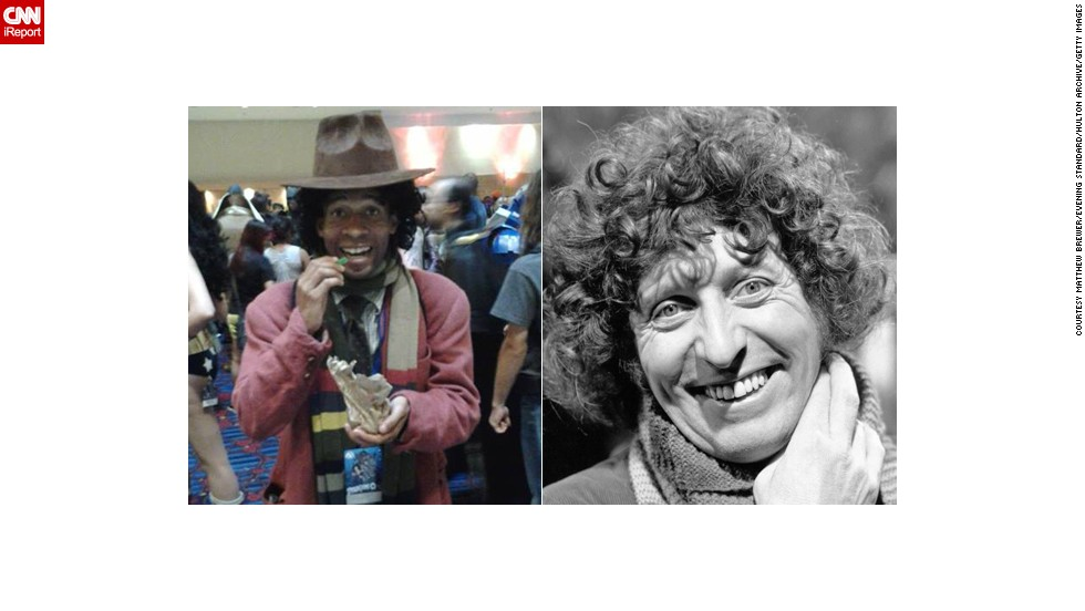 "<a href=""http://ireport.cnn.com/docs/DOC-1061282"">Matthew Brewer</a> of Fairburn, Georgia, portrays the Fourth Doctor."