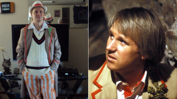 Nathaniel Strong, here cosplaying Peter Davison