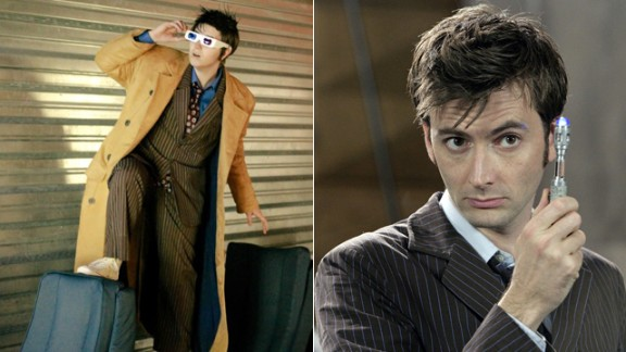"""David Tennant is a favorite of new """"Doctor Who"""" fans, and Katrina Lynn Panzer has made something of a reputation playing him. He """"reminded me of myself. I quickly realized it wasn"""