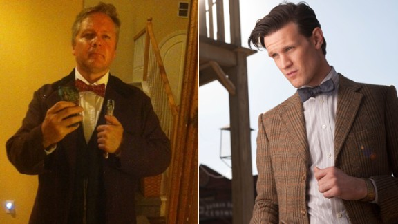 Mark Tuttle of Escondido, California, as the Eleventh Doctor.