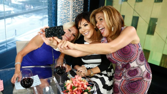 Kathie Lee Gifford, Kris Jenner and Hoda Kotb pose for a selfie on NBC