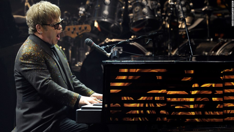"Celebrities such as Elton John have performed covers of ""Spirit in the Sky."""
