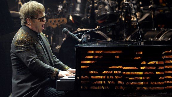 """Celebrities such as Elton John have performed covers of """"Spirit in the Sky."""""""