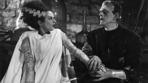 """""""The Mother-in-Law of Frankenstein"""": When a monster finds true love, three"""