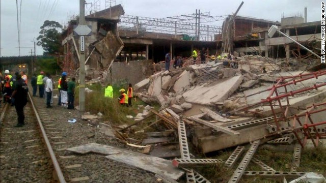 40 feared trapped in building collapse