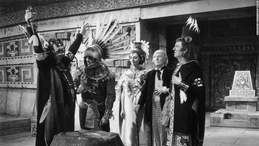 The Doctor -- a Time Lord from the planet Gallifrey who traveled through space and time -- was first played by William Hartnell, who took along his granddaughter on his adventures.